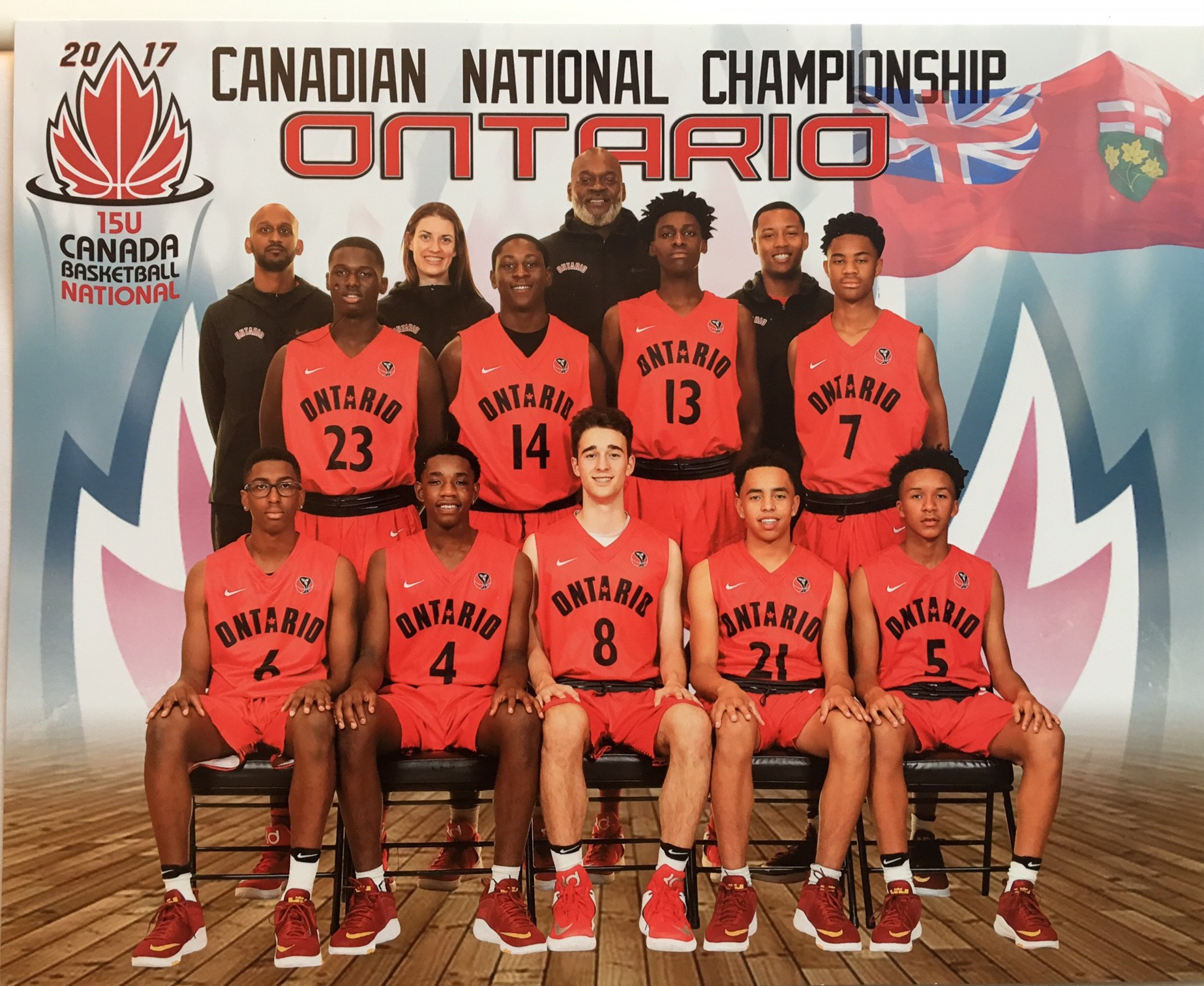 2017 Team Ontario: U15 Boys