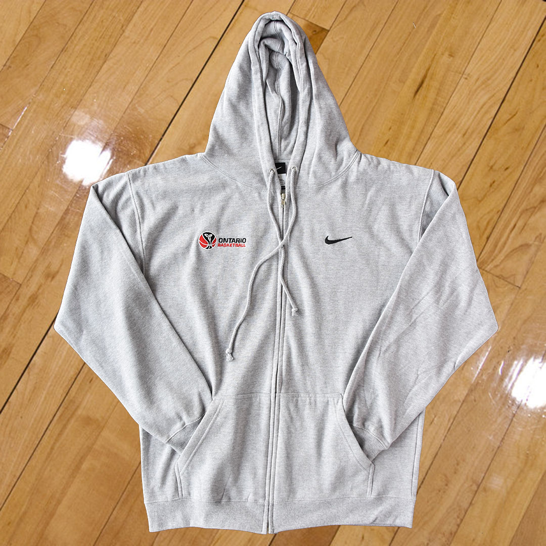 9d577041d2 Ontario Basketball Nike Zippered Hoodie • Ontario Basketball Association