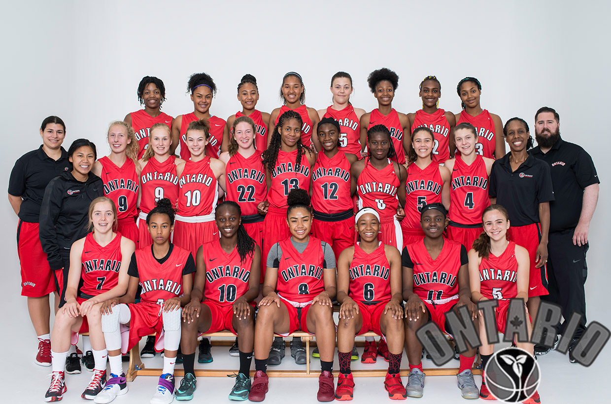 Team Ontario: U15 Girls, 2016