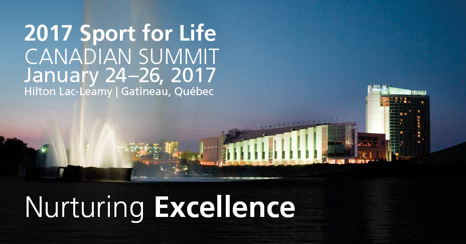 Sport For Life Canadian Summit