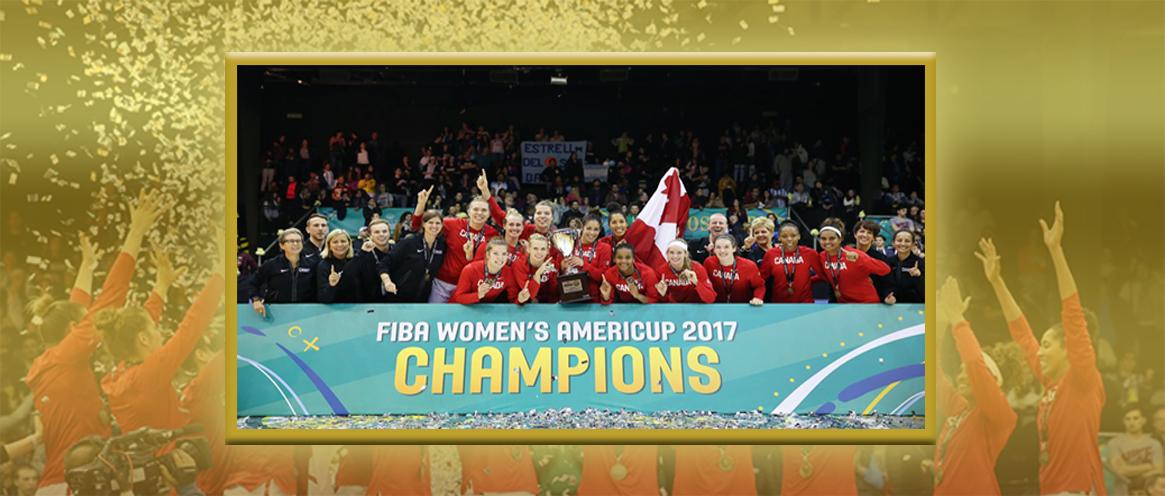 Canadian Senior Women's National Team Win FIBA Americup 2017