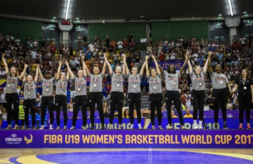 Canadian U19 Junior Women Win Bronze at FIBA World Cup 2017