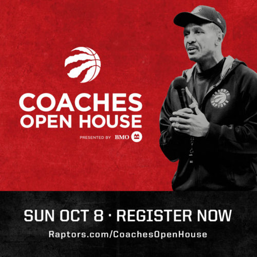 Raptors Coaches' Open House October 2017