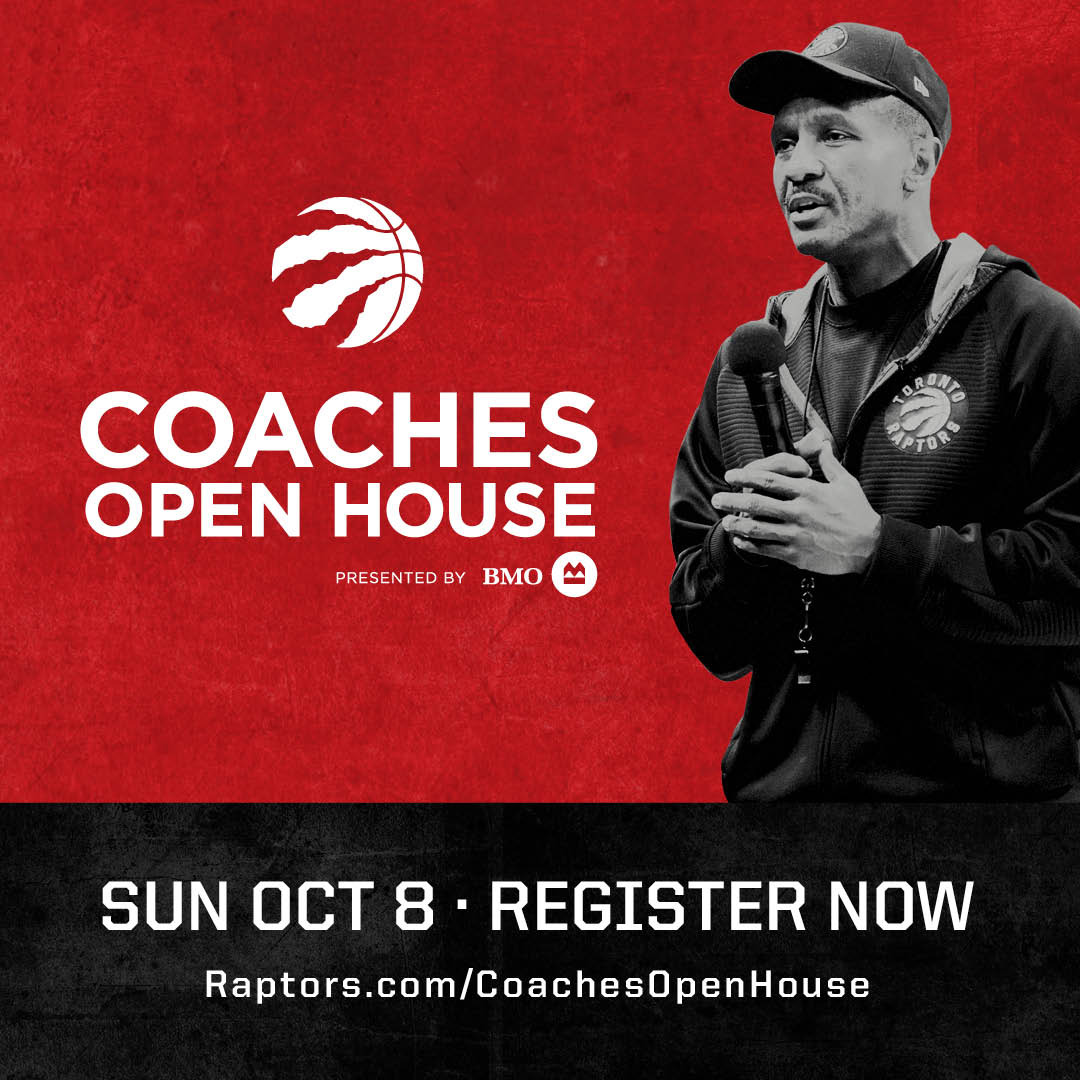 Raptors Coaches' Open House October 2017