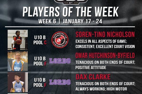 OBL Player of the Week - Week 6 - 1