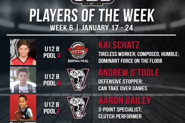 OBL Player of the Week - Week 6 - 2