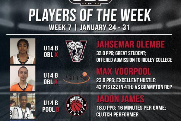 OBL Player of the Week - Week 7 Compressed