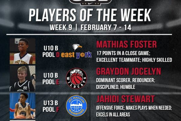 OBL Player of the Week - Week 9 Compressed