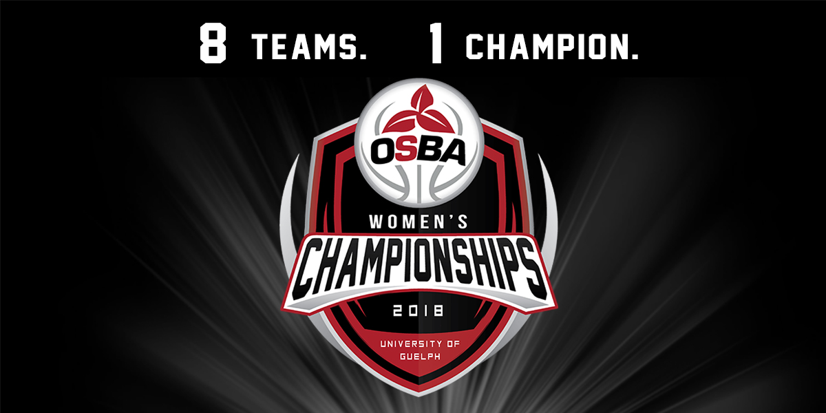 OSBA 2018 Women's Playoff Schedule released • Ontario ...