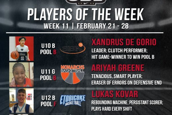 OBL Player of the Week - Week 11 Compressed