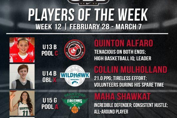 OBL Player of the Week - Week 12 Compressed