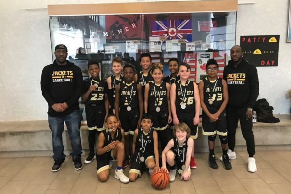 Blessed Sacrament Yellow Jackets: Pool D Champions