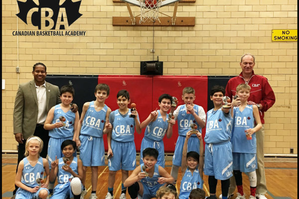 Canadian Basketball Academy: Pool F Champions