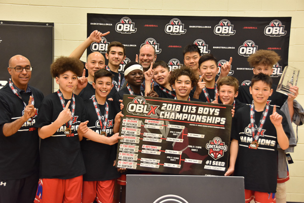 OBLX Champions: North Toronto Huskies
