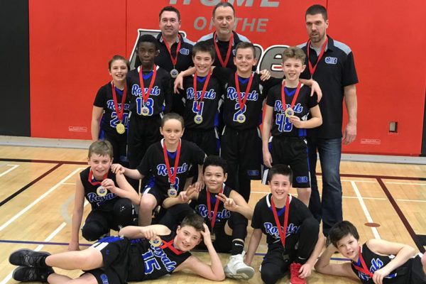 Pool C Champions: Barrie Royals