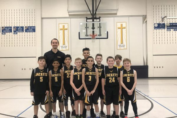 Pool G Champions: Blessed Sacrament Yellow Jackets