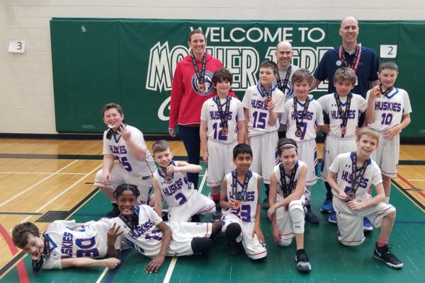 Pool B Champions: North Toronto Huskies