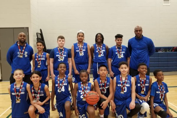 Pool A Champions: Brampton Warriors