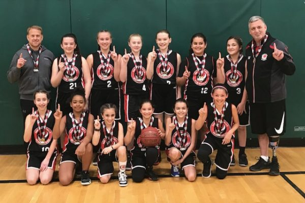 Pool D Champions: Niagara Falls Red Raiders