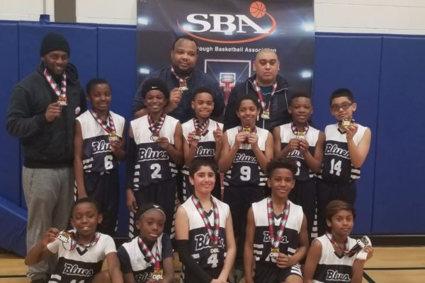 Pool F Champions: Scarborough Basketball Association - Amos