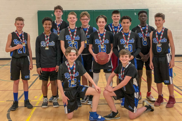Pool E Champions: Barrie Royals - Wilson
