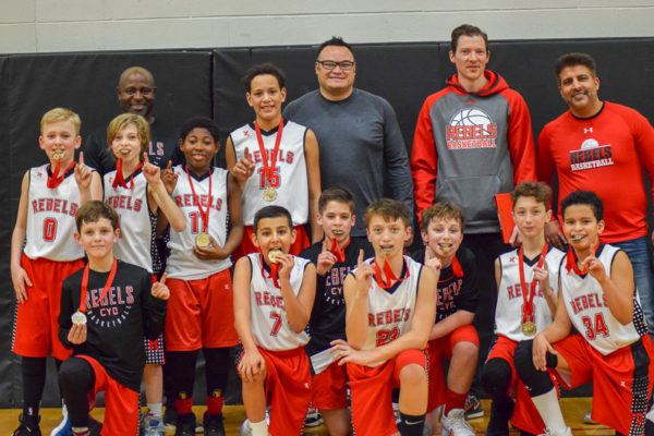 Pool C Champions: St. Catharines CYO Rebels