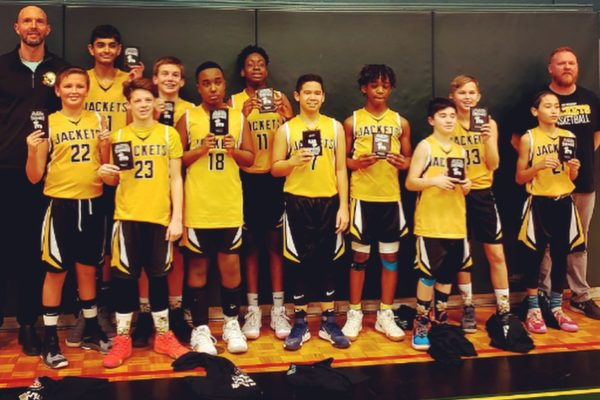 Pool A Champions: Blessed Sacrament Yellow Jackets
