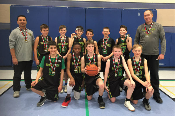 Pool H Champions: Gold Medal Basketball Club