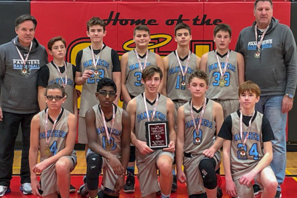 Pool A Champions: Pelham Panthers - Bleich