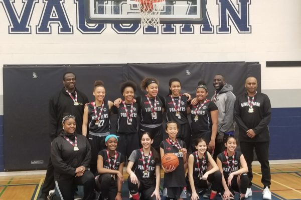 Pool A Champions: Vaughan Panthers