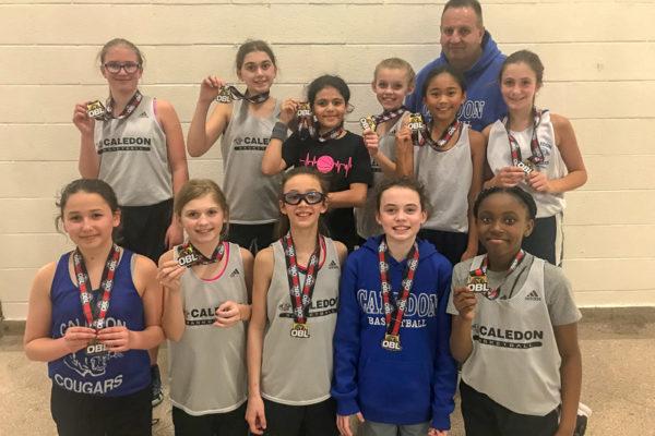 Pool B Champions: Caledon Cougars