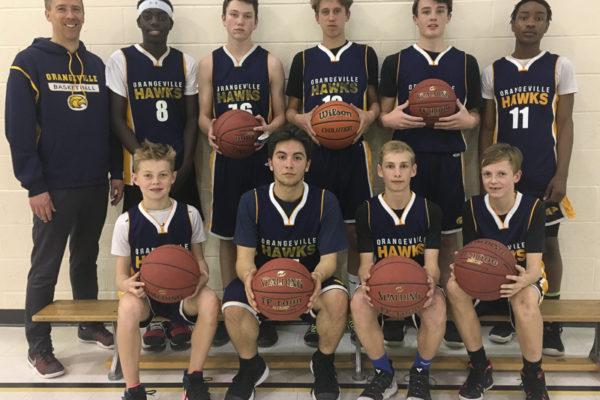 Pool B Champions: Orangeville Hawks