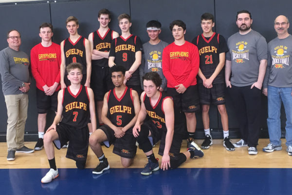 Pool G Champions: Guelph Gryphons - Randell