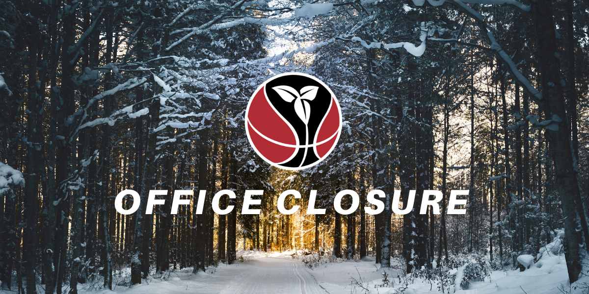 Winter Holiday Office Closure Graphic