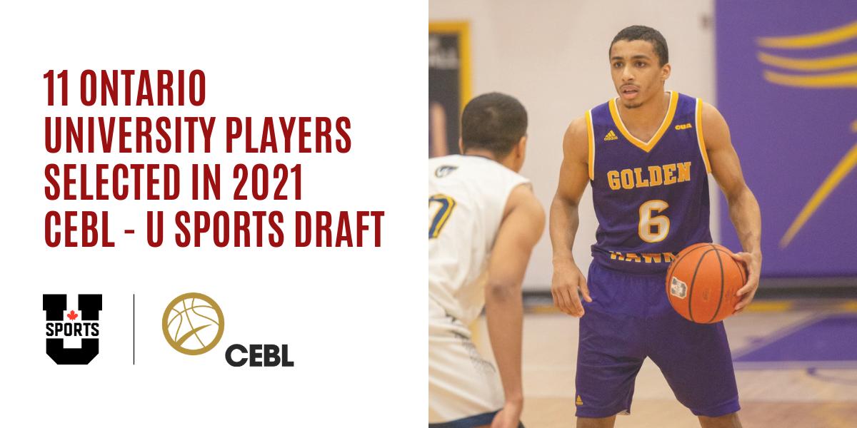 2021 CEBL U SPORTS Draft class