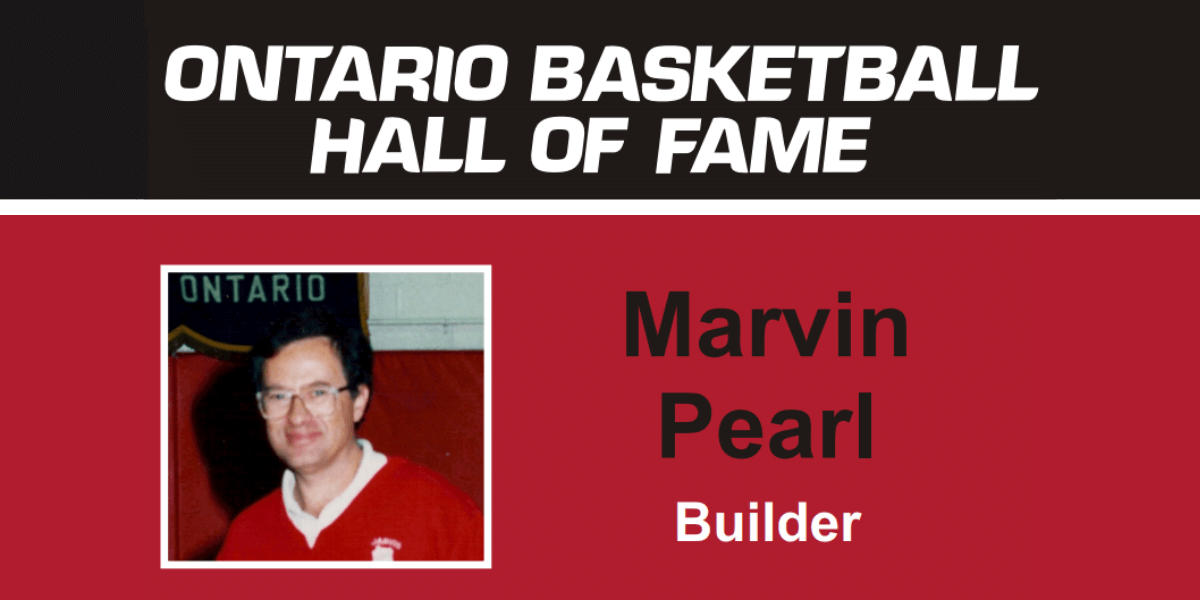 Marvin Pearl - OBA Hall of Fame