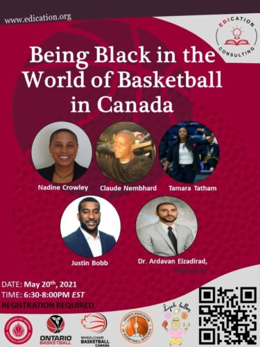 Being Black in Basketball in Canada (Poster)