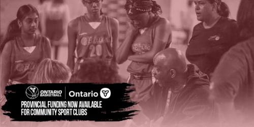MHSTCI Community Sport Club Funding